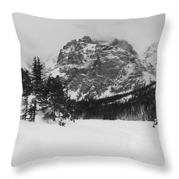 The Loch Throw Pillow by Eric Glaser