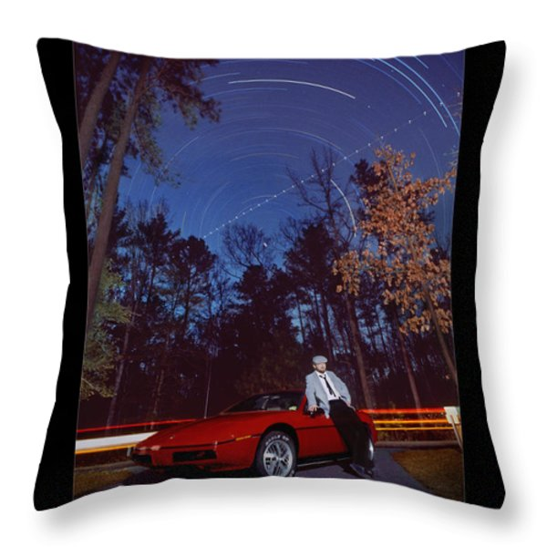 The Long Wait Throw Pillow by Mike McGlothlen