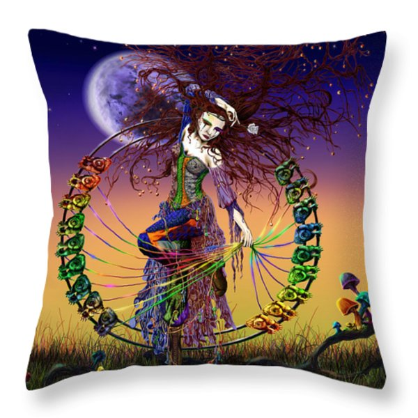 The Lover Throw Pillow by Kd Neeley