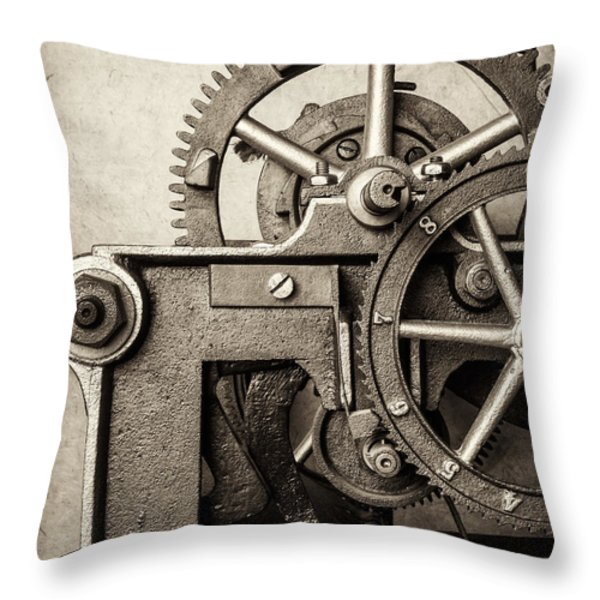 The Machine Throw Pillow by Martin Bergsma