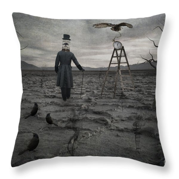 The Magician Throw Pillow by Juli Scalzi