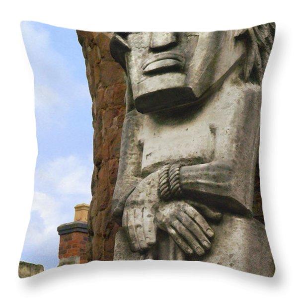 The Man Throw Pillow by Mike McGlothlen