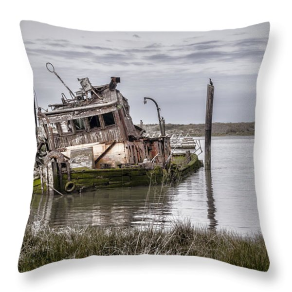 The Mary D. Hume Throw Pillow by Heather Applegate