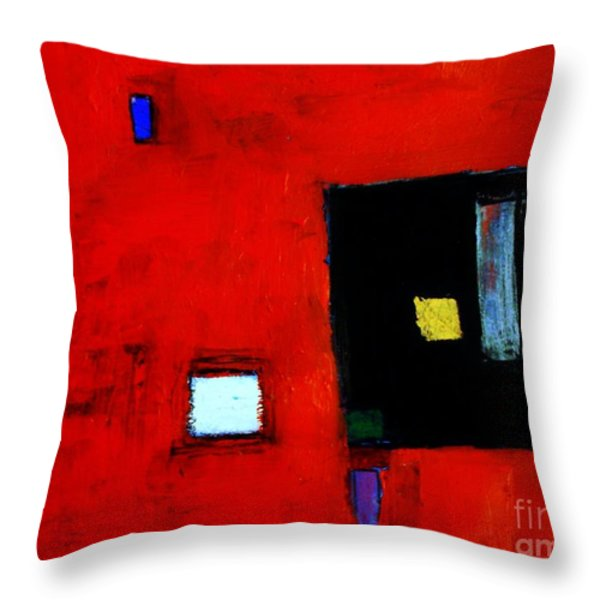 The Media Throw Pillow by Venus