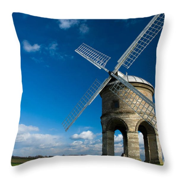 The Mill Throw Pillow by Anne Gilbert