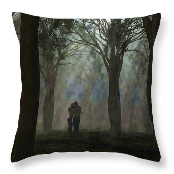 The Moment... Throw Pillow by Tim Fillingim