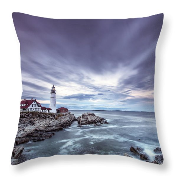The Motion of Light Throw Pillow by Jon Glaser