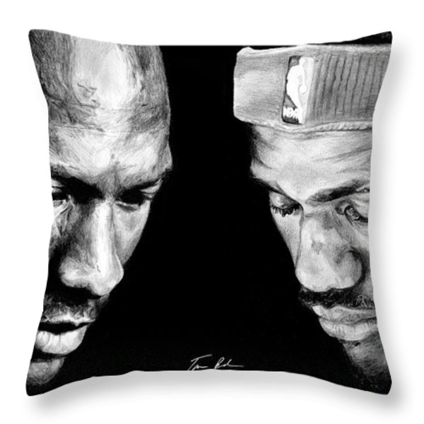 The Next One Throw Pillow by Tamir Barkan