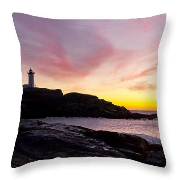The Nubble Throw Pillow by Steven Ralser