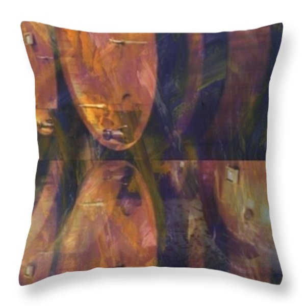 THE OLDER THE BETTER Throw Pillow by PainterArtist FIN