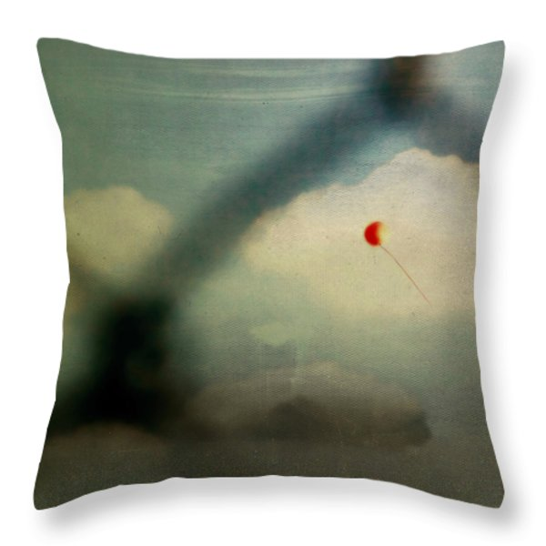 The One That Got Away Throw Pillow by Trish Mistric