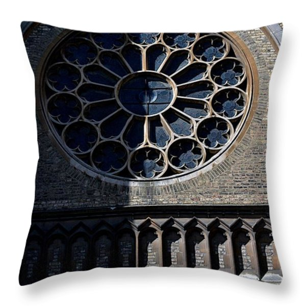 The Oratory Throw Pillow by Joseph Yarbrough