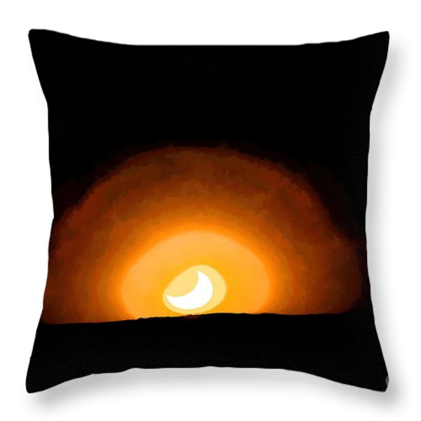 The Other Day I Was In Albuquerque And... Throw Pillow by Jon Burch Photography
