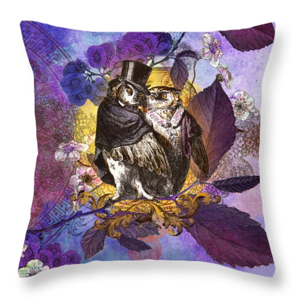 The Owlsleys Throw Pillow by Aimee Stewart
