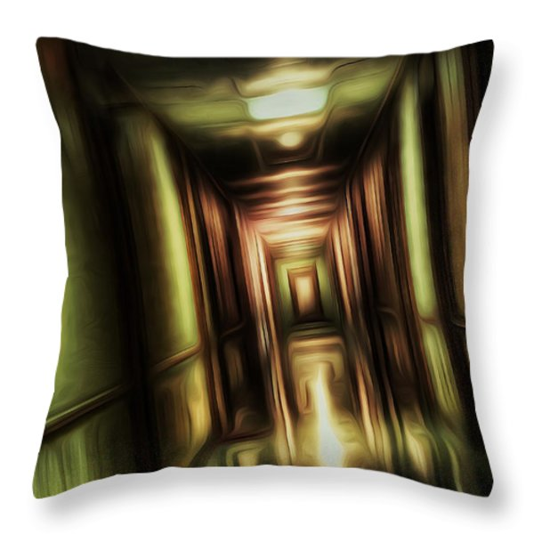 The Passage Throw Pillow by Scott Norris