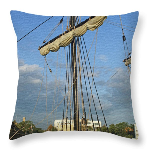The Pinta Throw Pillow by Kay Novy