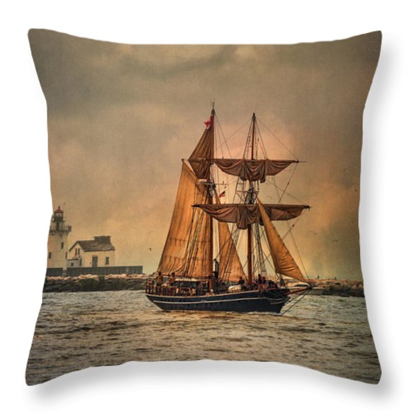 The Playfair Throw Pillow by Dale Kincaid