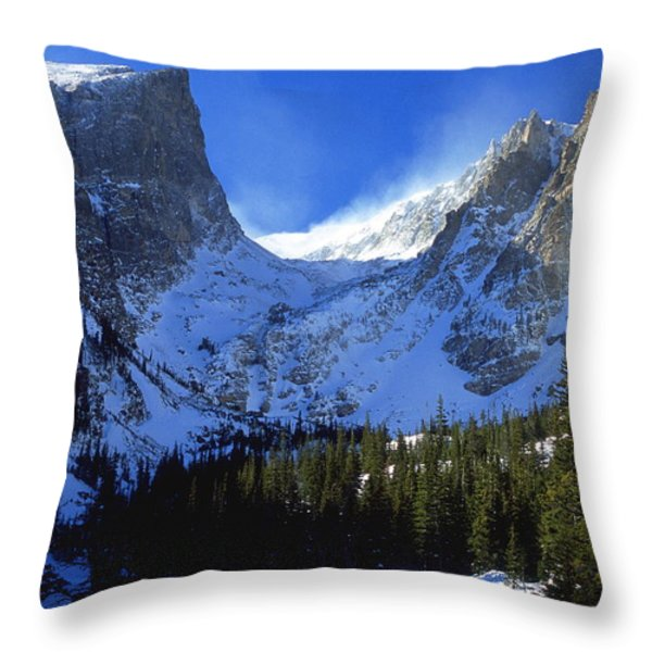 The Power and the Glory Throw Pillow by Eric Glaser