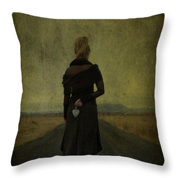 The Power Of Goodbye Throw Pillow by Evelina Kremsdorf