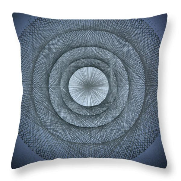 The Power of Pi Throw Pillow by Jason Padgett