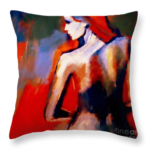 The Radical Lack Throw Pillow by Helena Wierzbicki