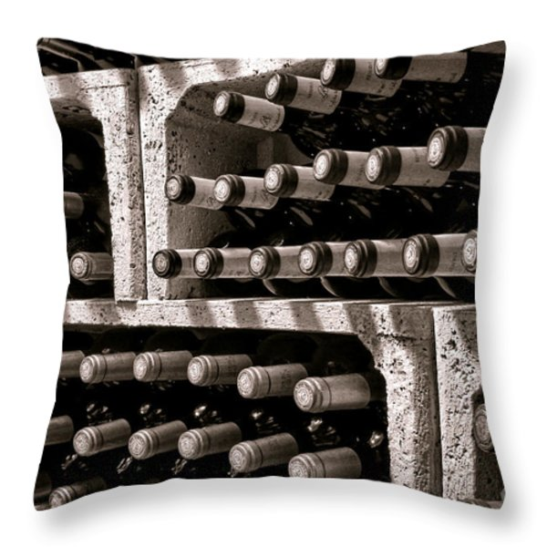 The Reserve Throw Pillow by Olivier Le Queinec
