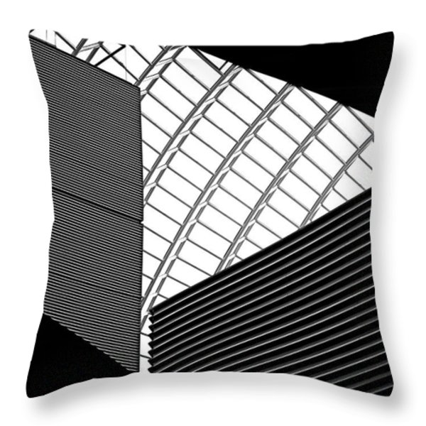 The Road Ahead Throw Pillow by Rona Black