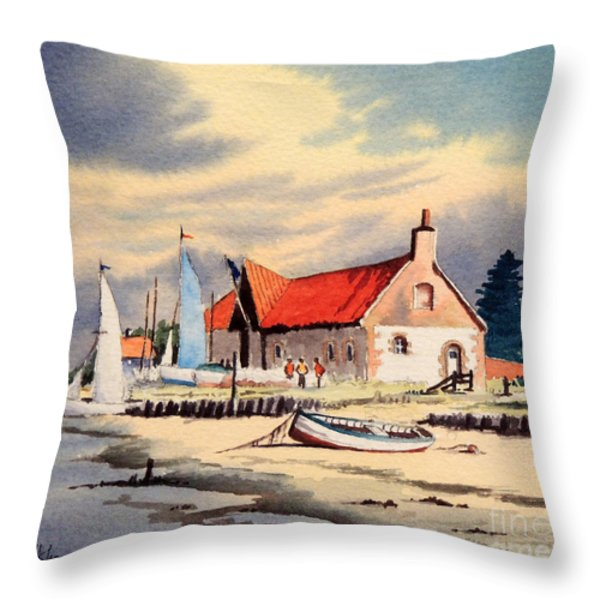 The Sailing Club  Throw Pillow by Bill Holkham