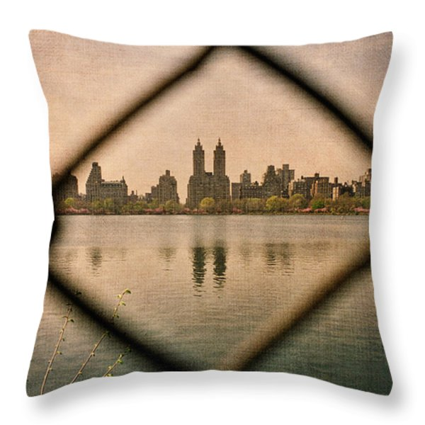 The San Remo Throw Pillow by Joann Vitali