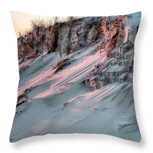 The Sands of Time Throw Pillow by JC Findley