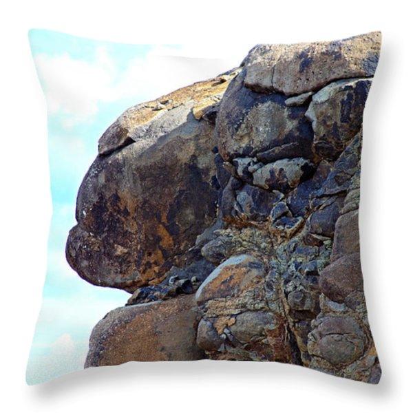 The Sentinels Throw Pillow by Karon Melillo DeVega