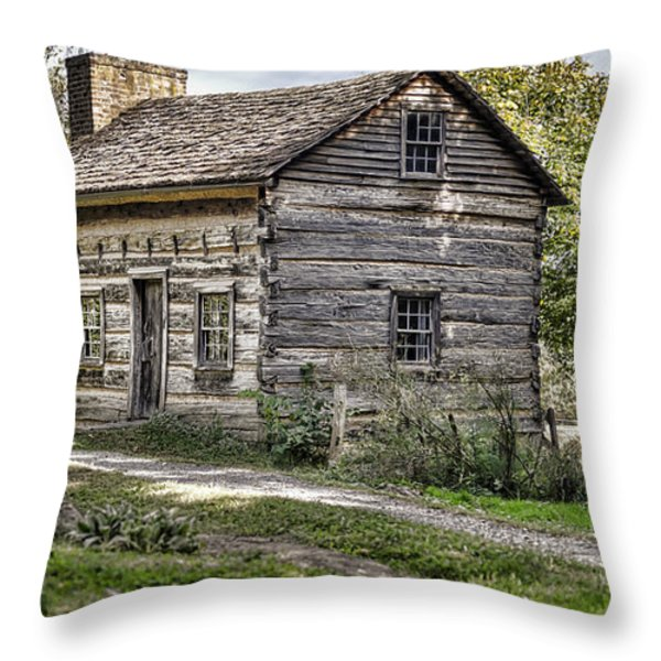 The Simple Life Throw Pillow by Heather Applegate