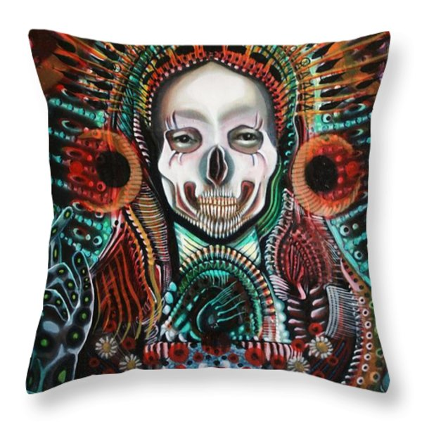 The Singularity Throw Pillow by Michael Kulick