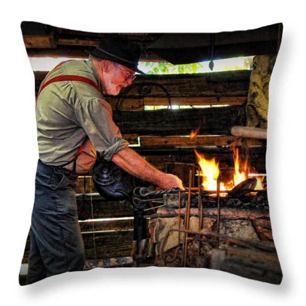 The Smith Throw Pillow by Kenny Francis