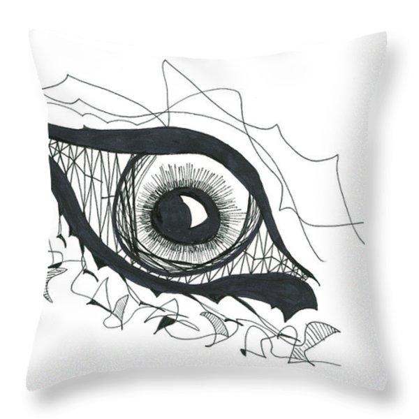 The Sorcerer's Divine Dance of Infinite Divine Light Throw Pillow by Daina White