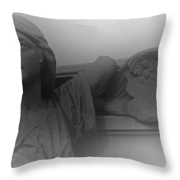 The Soul Throw Pillow by David Rucker