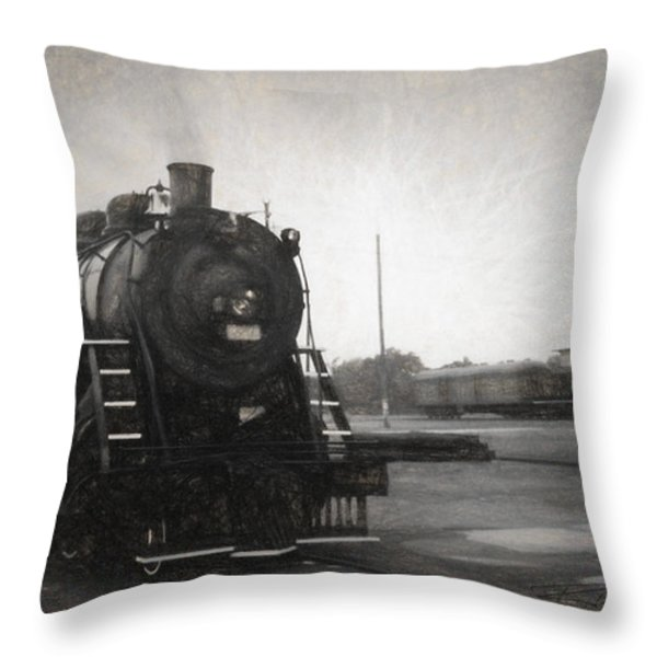 The Spencer Yard Throw Pillow by Richard Rizzo