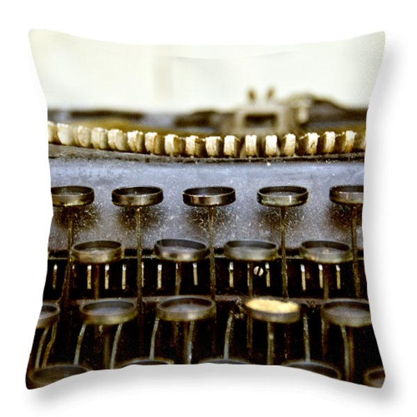 The Story Told 2 Throw Pillow by Angelina Vick