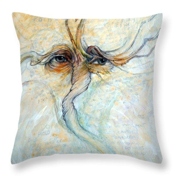 The Struggle Throw Pillow by Frank Robert Dixon