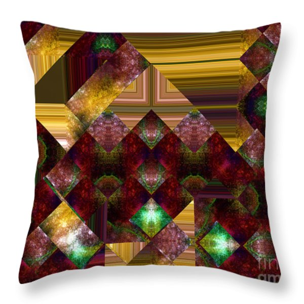 The Sublimation Of Desire Throw Pillow by RC DeWinter
