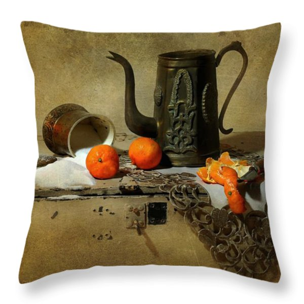 The Sugar Bowl Throw Pillow by Diana Angstadt