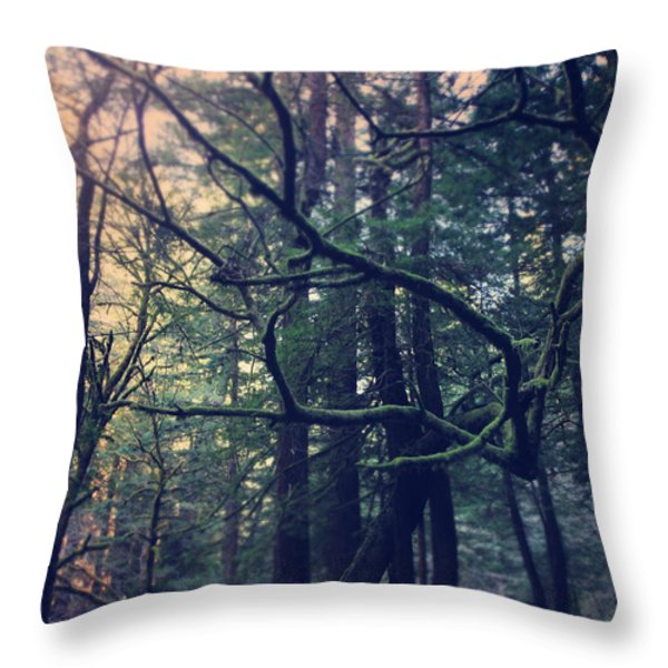 The Swaying To And Fro Throw Pillow by Laurie Search
