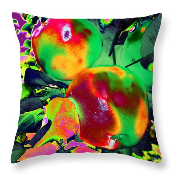 The Temptation Throw Pillow by Martin Howard