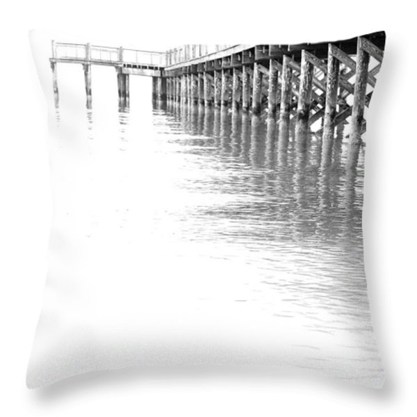 The Tide Throw Pillow by Karol Livote