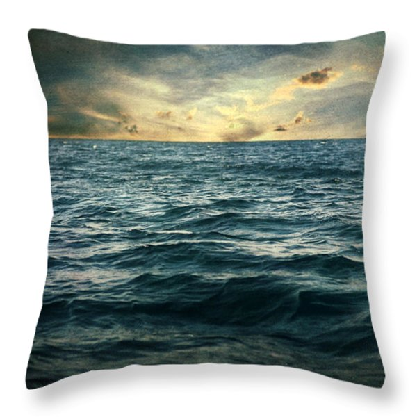 The Time I Was Daydreaming Throw Pillow by Taylan Soyturk