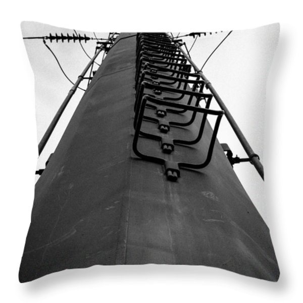 The Tower Throw Pillow by Edward Fielding