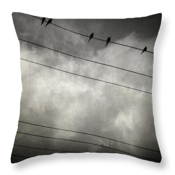 the trace 11.24 Throw Pillow by Taylan Soyturk