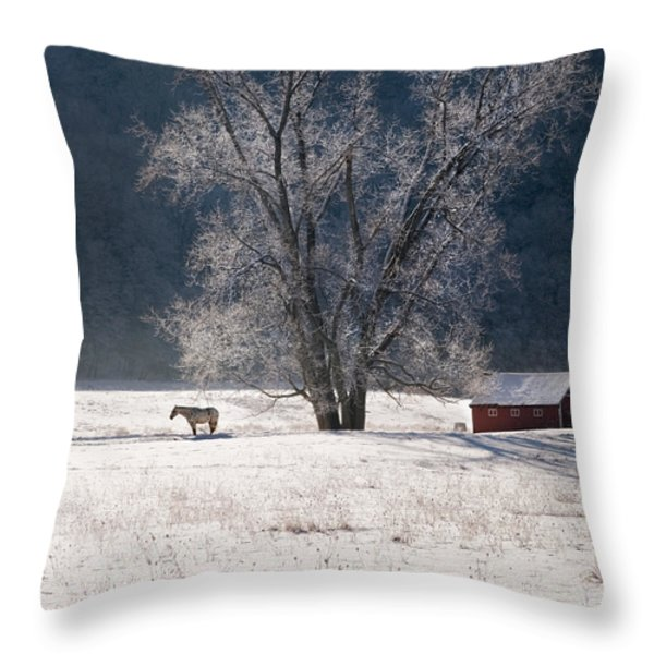 The Tree Throw Pillow by Bill  Wakeley