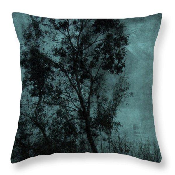 The Tree Throw Pillow by Sarah Vernon