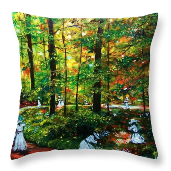 The Trials Throw Pillow by Emery Franklin